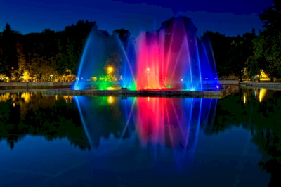 Minsk Singing Fountains 2013