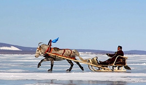 Mongolia in Winter: Huvsgul Lake