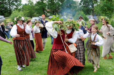 Midsummer celebrations in Baltics
