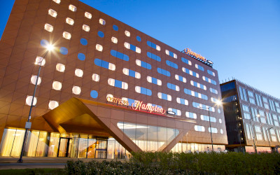 The new Hampton by Hilton Saint Petersburg ExpoForum Hotel