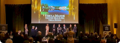 VIHULA MANOR – HISTORIC HOTEL OF EUROPE 2020
