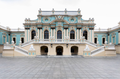 THE MARIINSKY PALACE IN KYIV RE-OPENED TO VISITORS